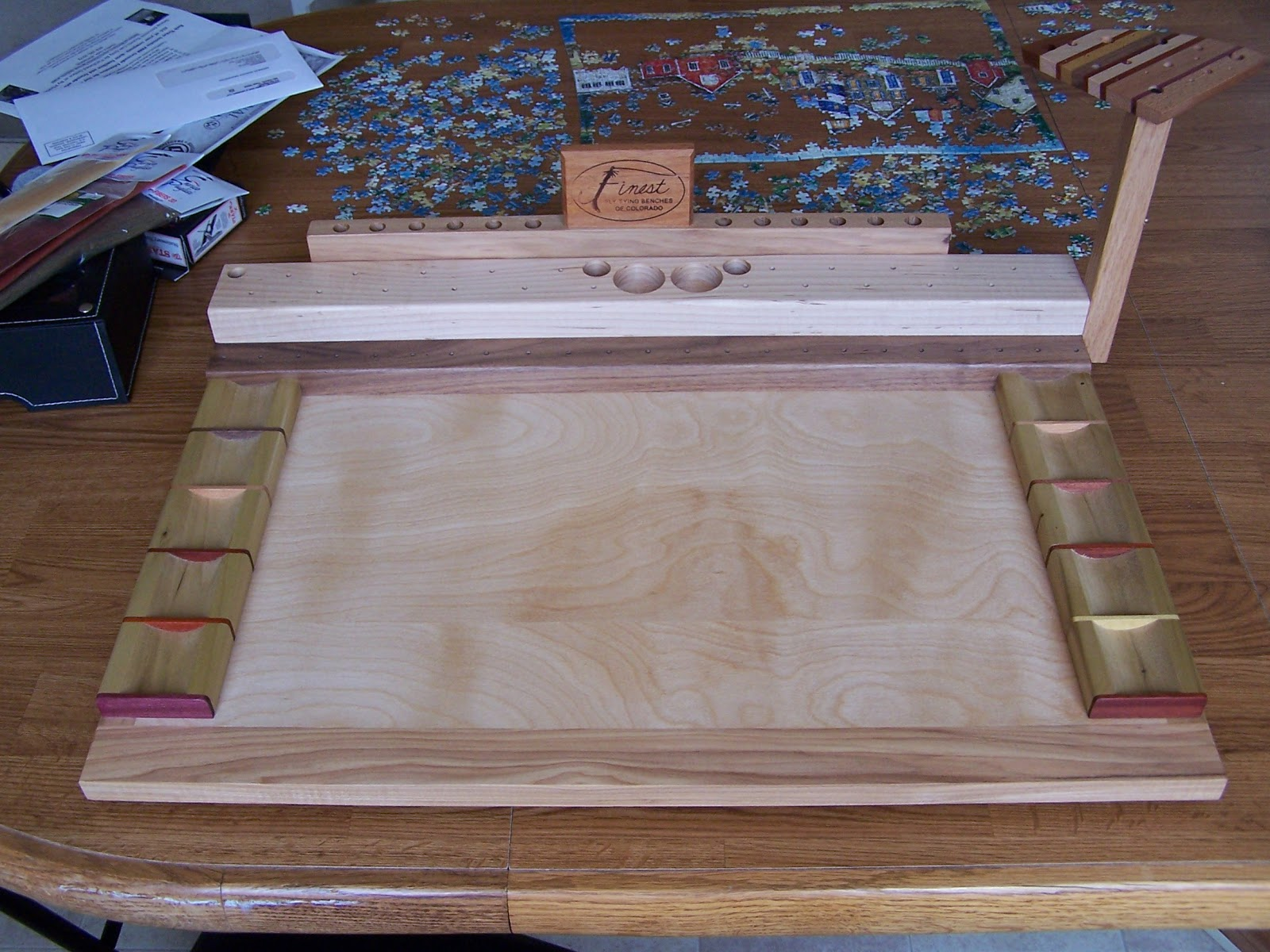 Fishing Fly Tying Benches
