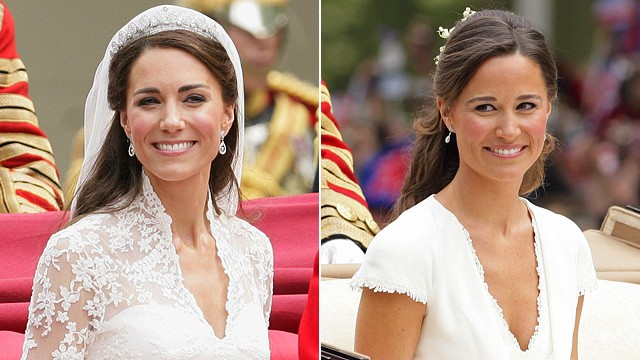 kate middleton pippa kate middleton. (Kate Middleton after / Pippa