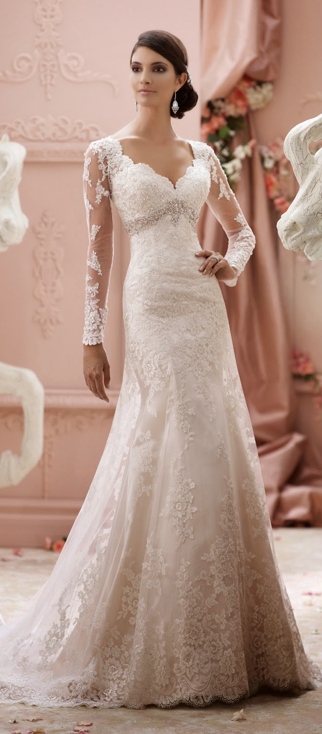David Tutera for Mon Cheri Spring 2015 Bridal Collection ...