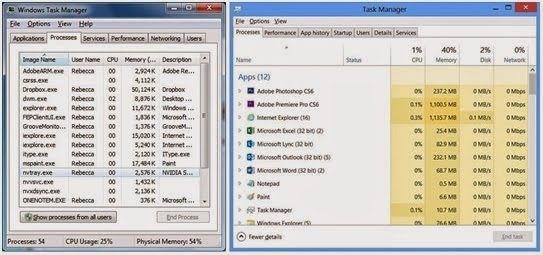 windows 8 vs windows 7 task manager