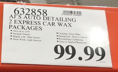 Deal for 2 Express Car Waxes at AJ Auto Detailing