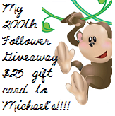 Jo's 200 Follower Giveaway