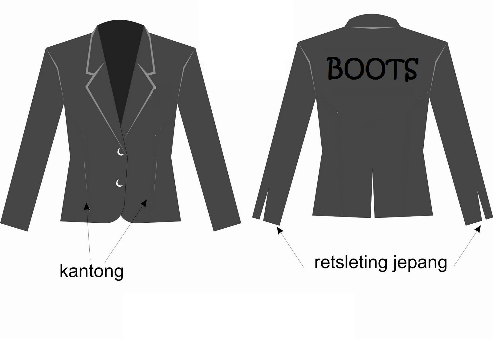 Desain Blazer | Search Results | Template PSD