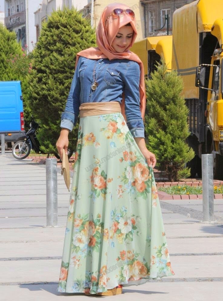 Hijab Moderne 2014 Kayra Avec Robe Hijab Chic Turque Style And Fashion