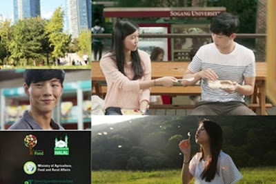 Amelia Tantono dan Ji Soo dalam Lunch Box