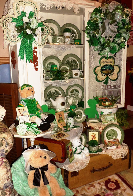 St. Patrick's Day China Cupboard, 2016