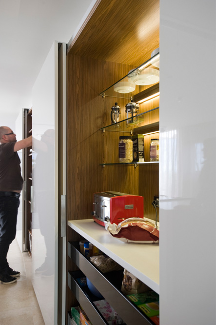 Minosa Small Space Becomes A Large Kitchen Thru Clever Design Solutions Th