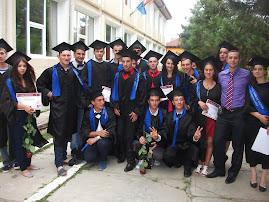 Aspecte de la cursul festiv, Liceul Teoretic Roznov, 30.V.2013...