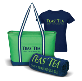 Enter for a chance to win a Teas' Tea prize pack including tote, towel, t-shirt, and Tea's Tea coupon. {US, 18+, 6/30}