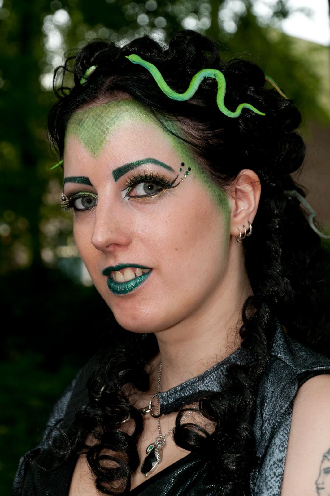 Medusa makeup ideas