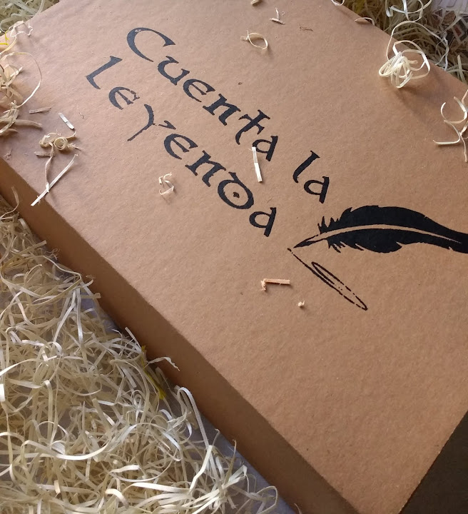 Cajas literarias - Cuenta la Leyenda