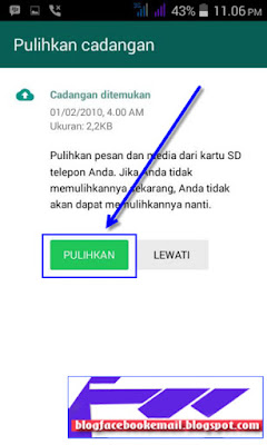 bagaimana langkah daftar whatsapp di android