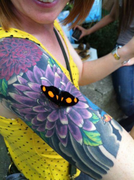 Flower Shoulder Tattoos