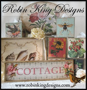 Robin King Designs: Romantic Country Spring 2011