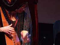 laoise kelly plays harp at celtici 2011 copyright kerry dexter