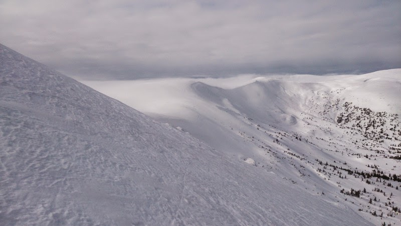 Svydovets mountain range