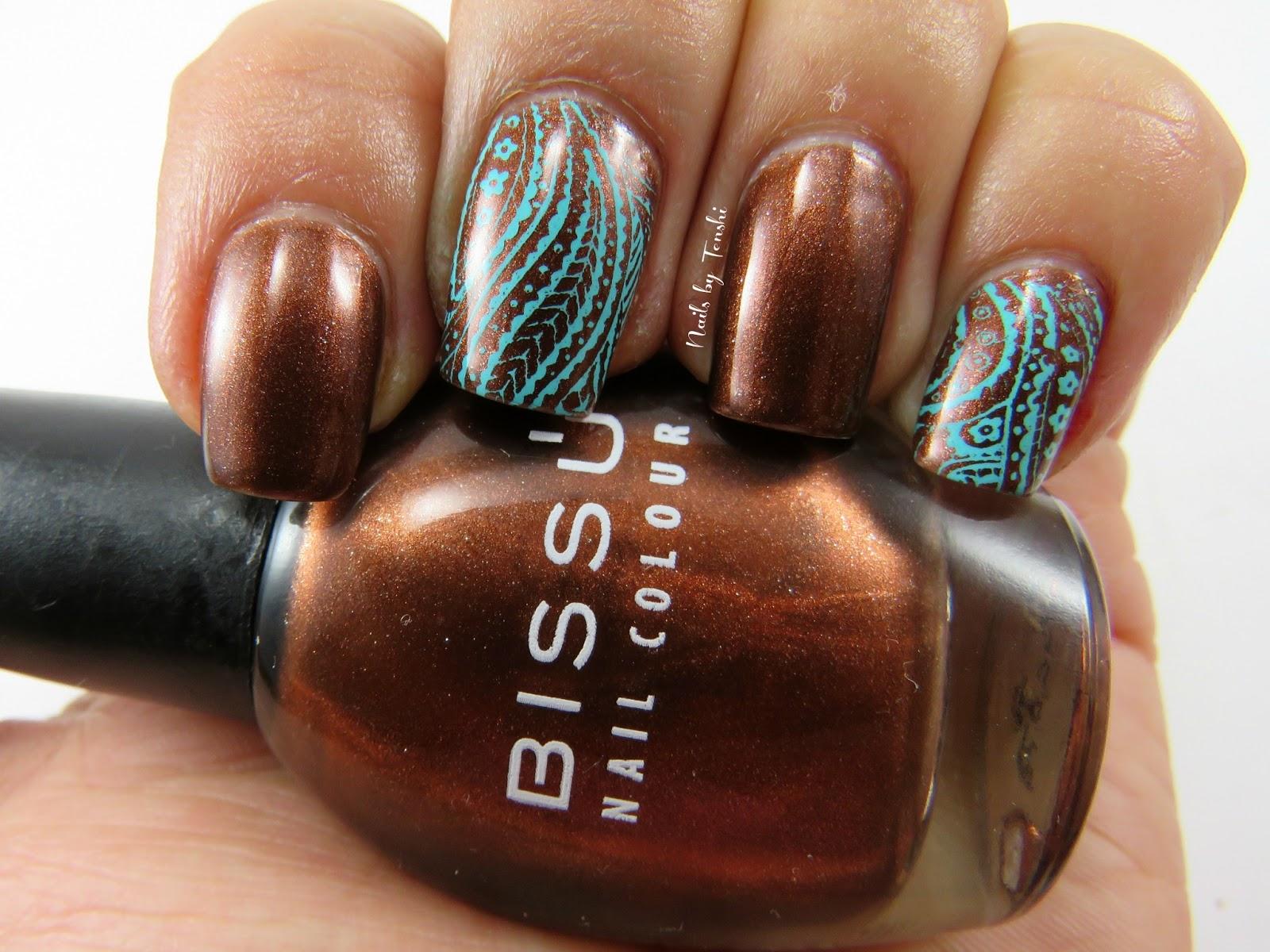 Nails by Tenshi: Reto Colores 2: Marrón