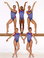 US Olympic gymnastics fab five fierce