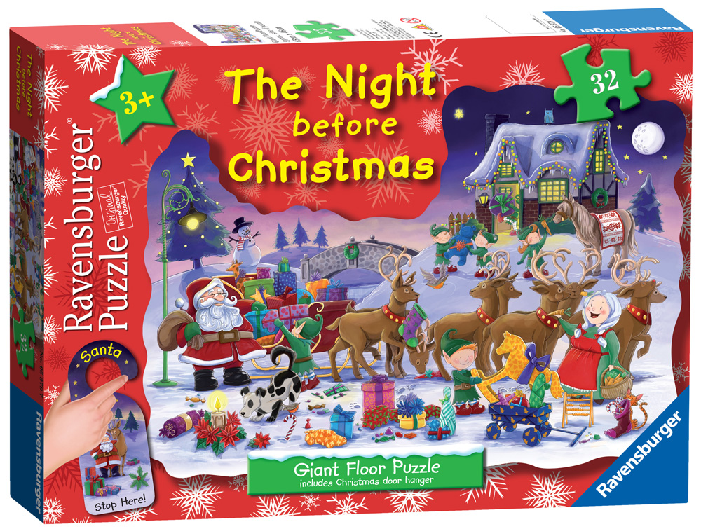 christmas puzzles from ravensburger - Ravensburger Christmas Puzzles