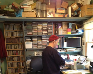 Ian MacKaye at Dischord HQ via MoJo