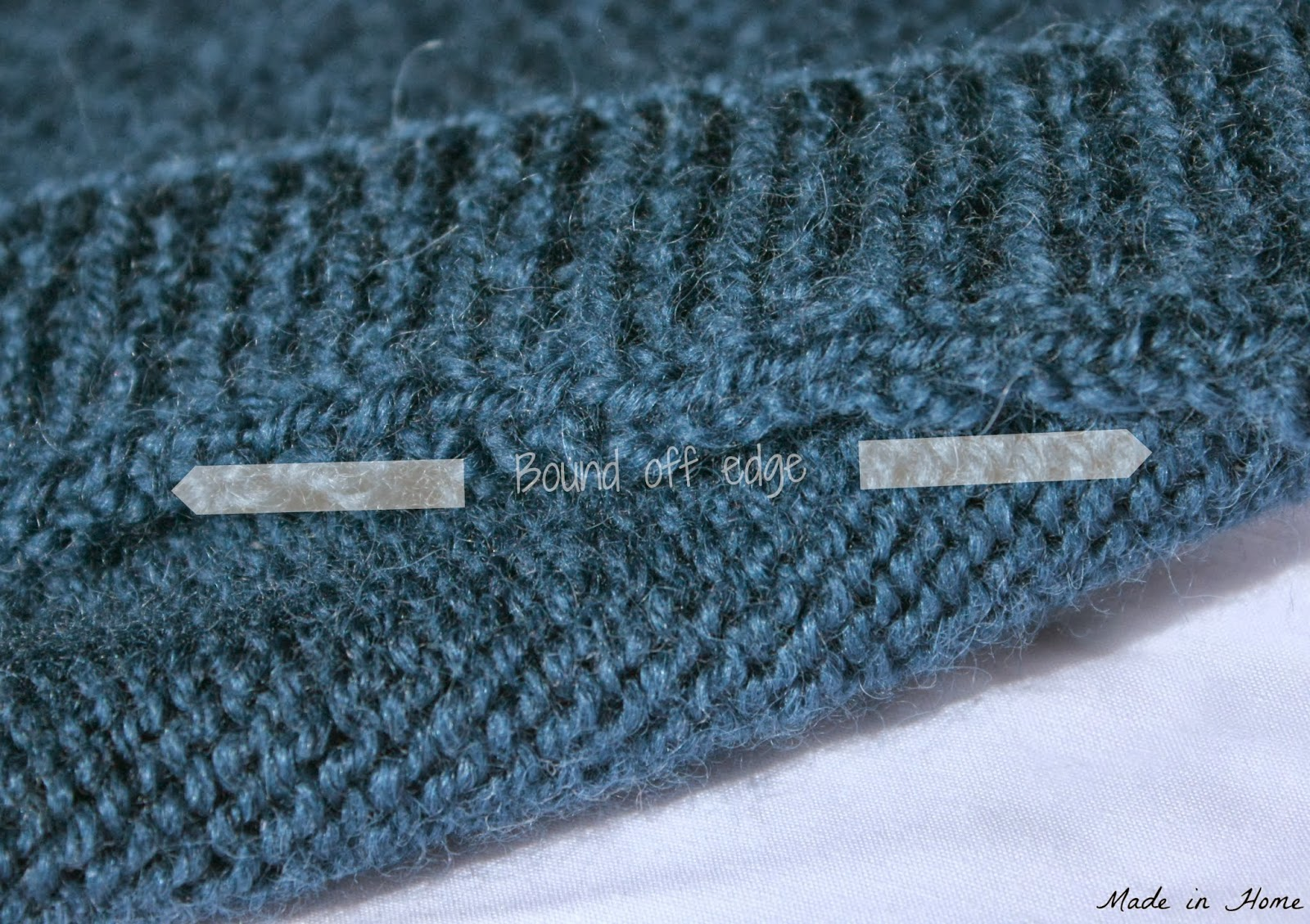 Knitting Pick Up Stitches On An Edge : Made in Home: The not-so-effortless cardigan Picking up stitches tutorial {...