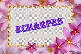 ECHARPES DE CROCHÊ