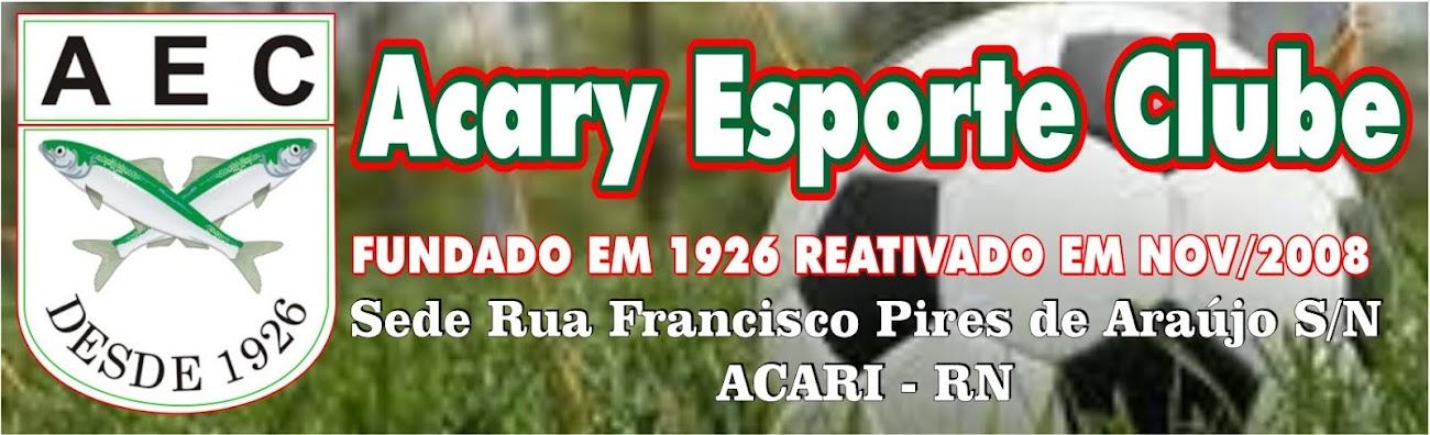 Blog Acary Esporte Clube