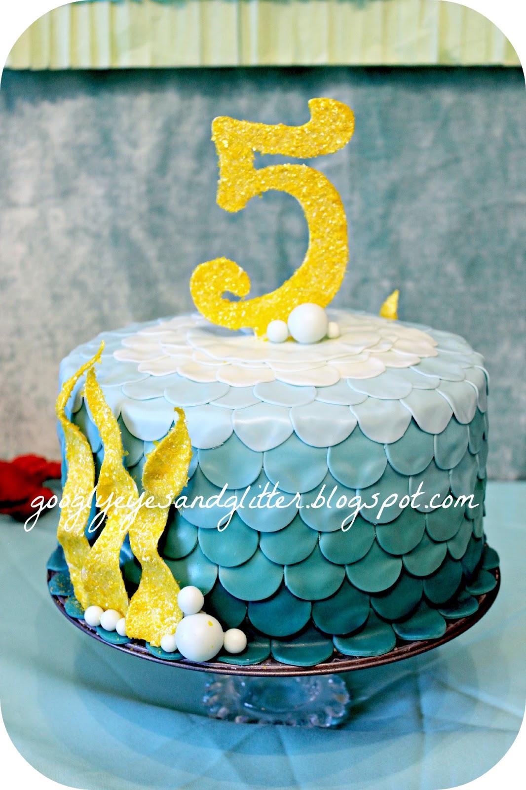 Googly Eyes & Glitter: Under The Sea Mermaid Themed Birthday Party