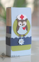 'Get Well Soon' Owl Tissue Holder Tutorial - £2.50