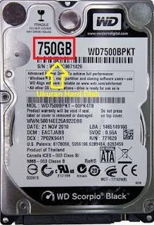 cara cek kapasitas hard disk tanpa software