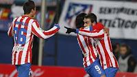 Adrían celebra el 1-0 frente al Levante