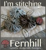 "I AM STITCHING - ""FERNHILL"""