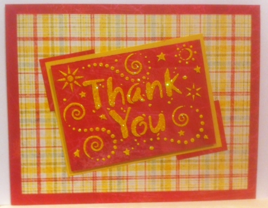 Razberry Color Thank You Cards