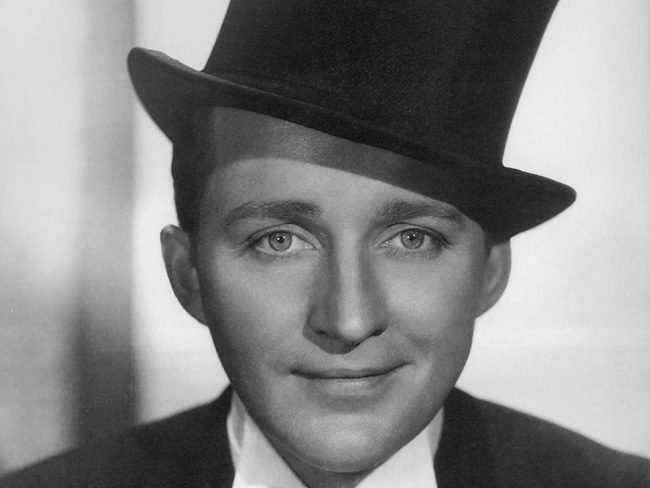 Bing Crosby Blackface Bing crosby is about as white