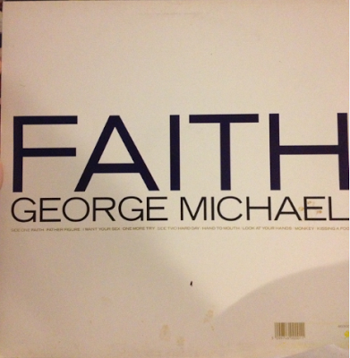 george michael faith vinyl