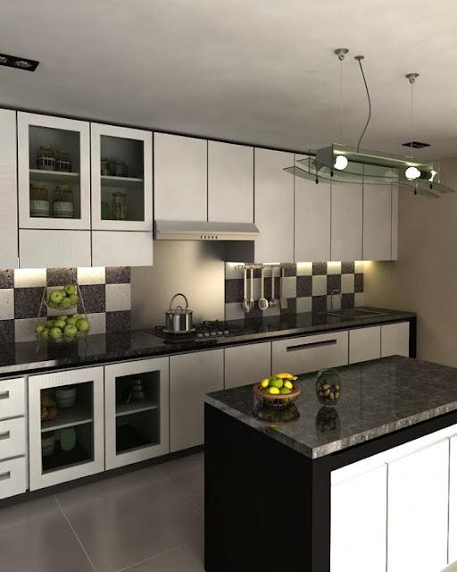 Model Dapur Minimalis dan Simple