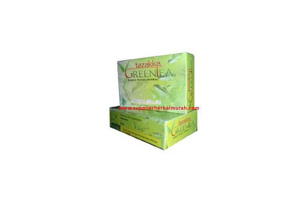 Sabun Mandi Herbal Green Tea Tazakka