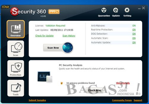 IObit Security 360 v1.6 + Keygen 3