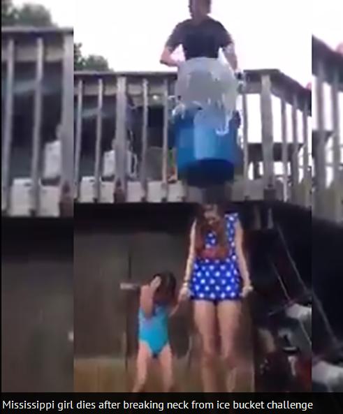 Meninggal Dalam Acara Ice Bucket Challenge