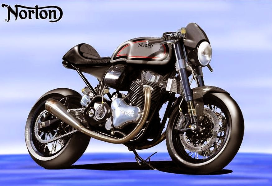 Norton Dominator SS (2015 Rendering) Front Side