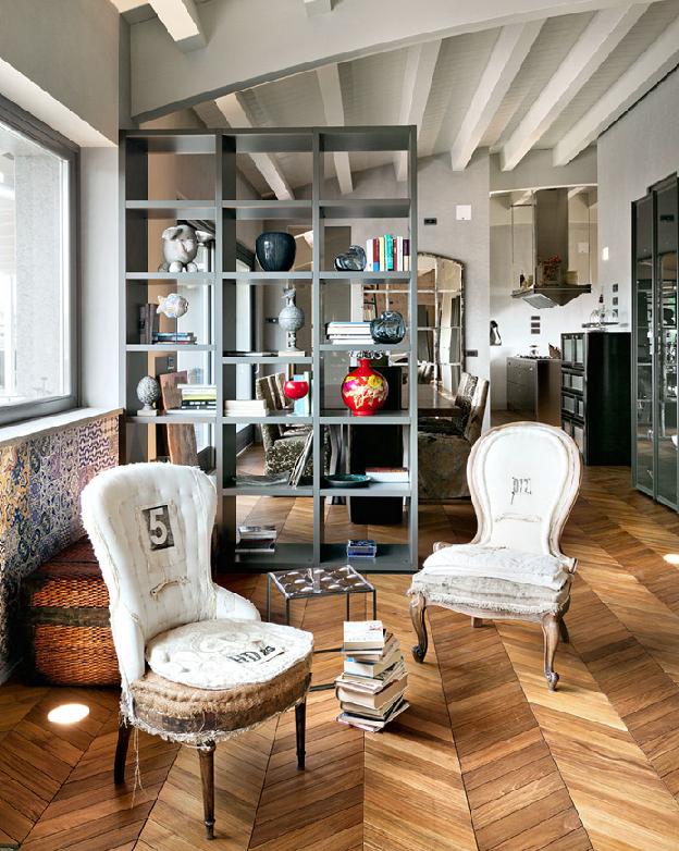 Eclettico italiano coffee break the italian way of design for Appartamento design industriale
