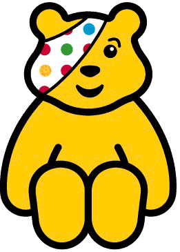 Heres looking at you Pudsey! Talented make-up artist