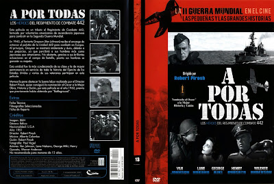 Cover, Carátula, Dvd: A por todas | 1951 | Go for Broke!