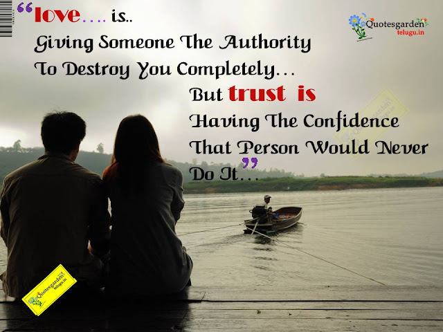 Heart touching inspirational quotes about love and trust 676