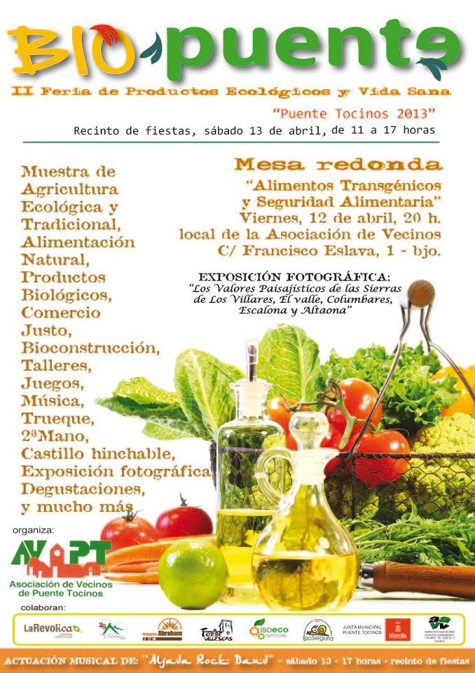 Ii feria de productos ecol gicos y vida sana biopuente - Luz de vida productos ecologicos ...