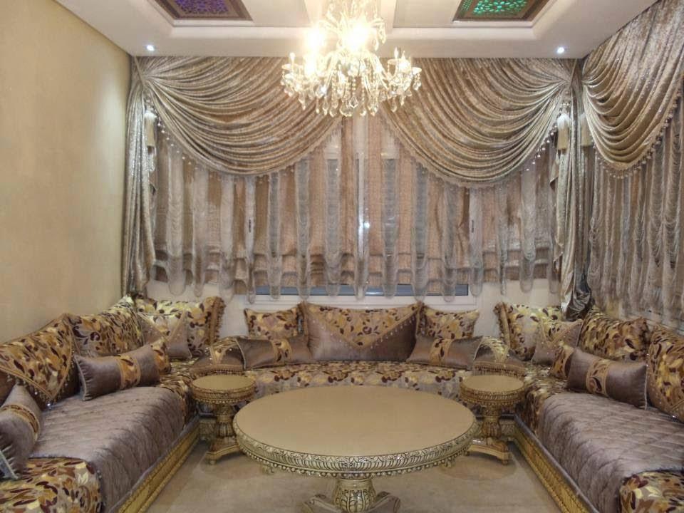 أحدث موديلات الصالونات و الأثاث المغربي 2015