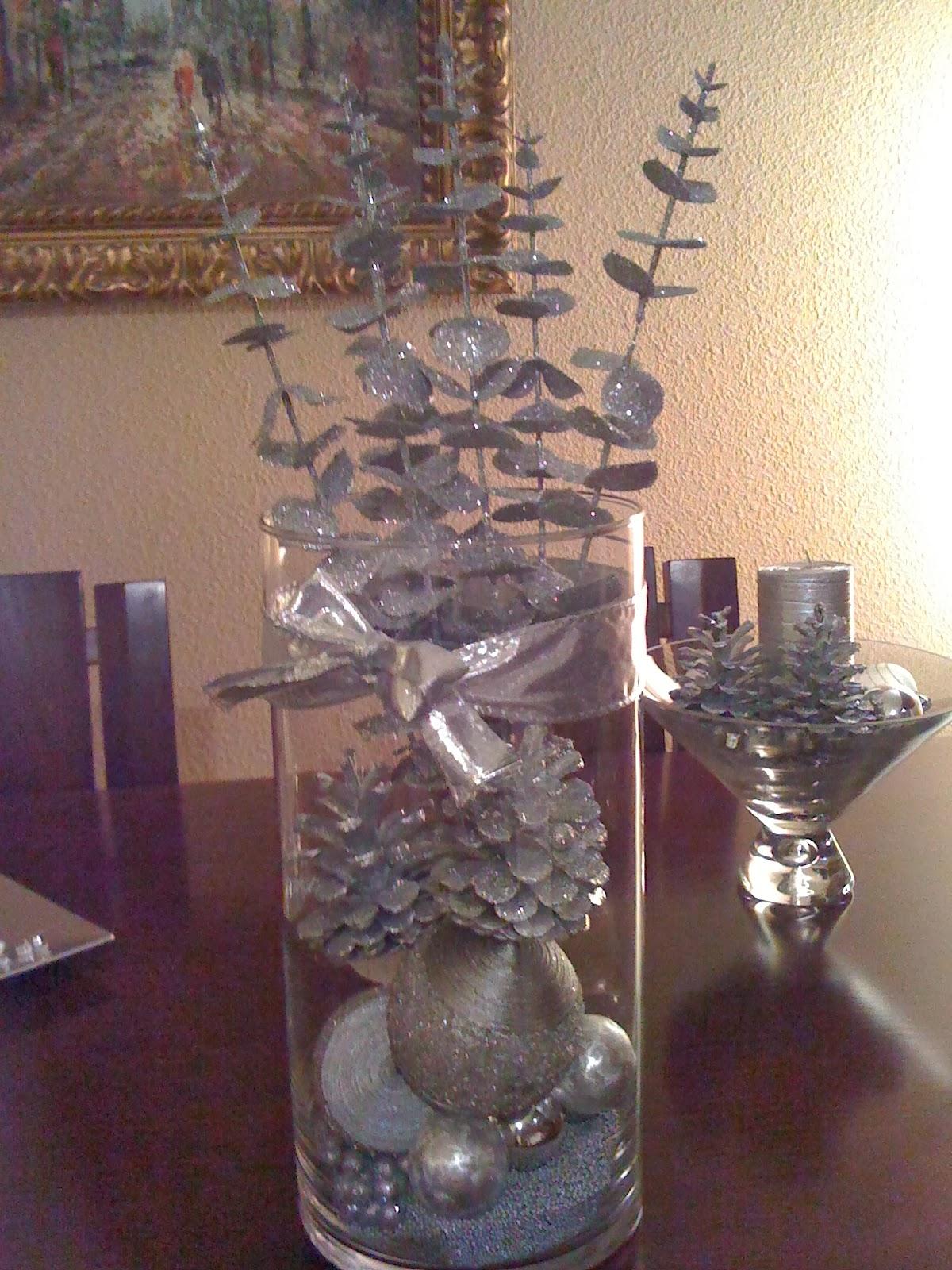 Decoracion jarrones de navidad - Decoracion para jarrones ...