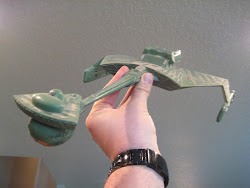 My Klingon D-7 Battlecruiser...Built in the late 80's