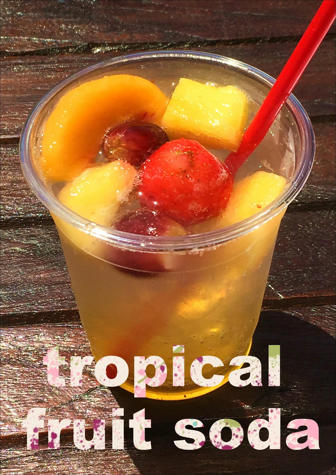 Tropical Fruits Soda