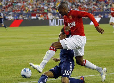 Manchester United vs New England Revolution Man Utd Tour USA